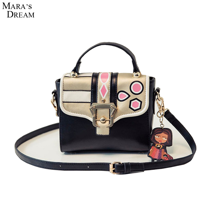 Maras Dream Women Shoulder Bags Casual Style Printed Pattern Messenger Bags Spring New Arrival Shoulder Bags For Women<br><br>Aliexpress