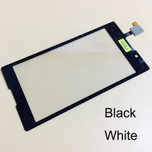 iSIU Replacement For Sony Xperia C Touch Sreen S39H C2304 C2305 Mobile Phone Touch Panel Glass Digitizer Sensor NO LCD DISPLAY