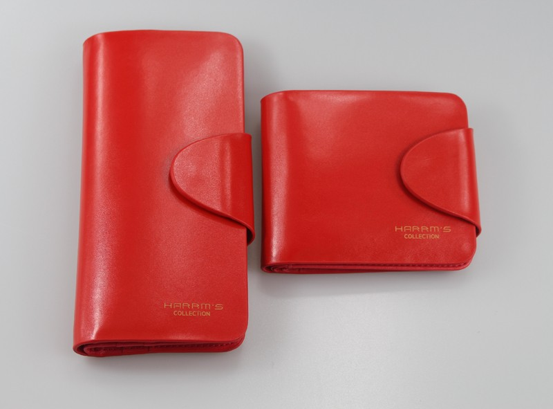 HTB1R9oMLFXXXXbiXVXXq6xXFXXX2 - Harrm's Brand Classical Fashion genuine leather women wallets short red blue Color female lady Purse for women with coin pocket