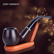 COSY MOMENT Portable Resin Tobacco Smoking Pipe Durable Classical Tobacco Cigarettes Cigar Pipes   YJ033