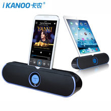 iKANOO I806 Wireless Bluetooth Speaker NFC Multi-function Super Stereo Music Player With MIC Portable Notebook speaker For phone
