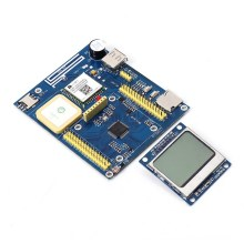 TPYBoard v702 GPS GPRS Python Development Board Compatible MicroPython Positioning Module LCD5110 Display Power Indicator