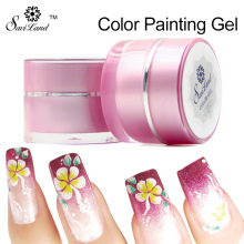 Saviland 1pcs Gel Polish Paint for Painting Draw Painted Colorful UV Bio Gel Nail Polish 12 Colors Long-lasting(China)