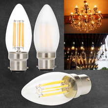 Buy Dimmable Edison Lights bulbs B22 Bayonet 2W 4W 6W LED Filament Bulb Warm White 2700K Cold White 6000K led bulb 220V 240V 230V for $2.64 in AliExpress store