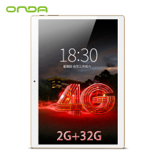 Onda V10 4G Phone Call Tablet PC 10.1'' IPS 1920*1200 MTK6753 Octa Core Android 7.0 Dual SIM Card GPS 2GB Ram 32GB Rom