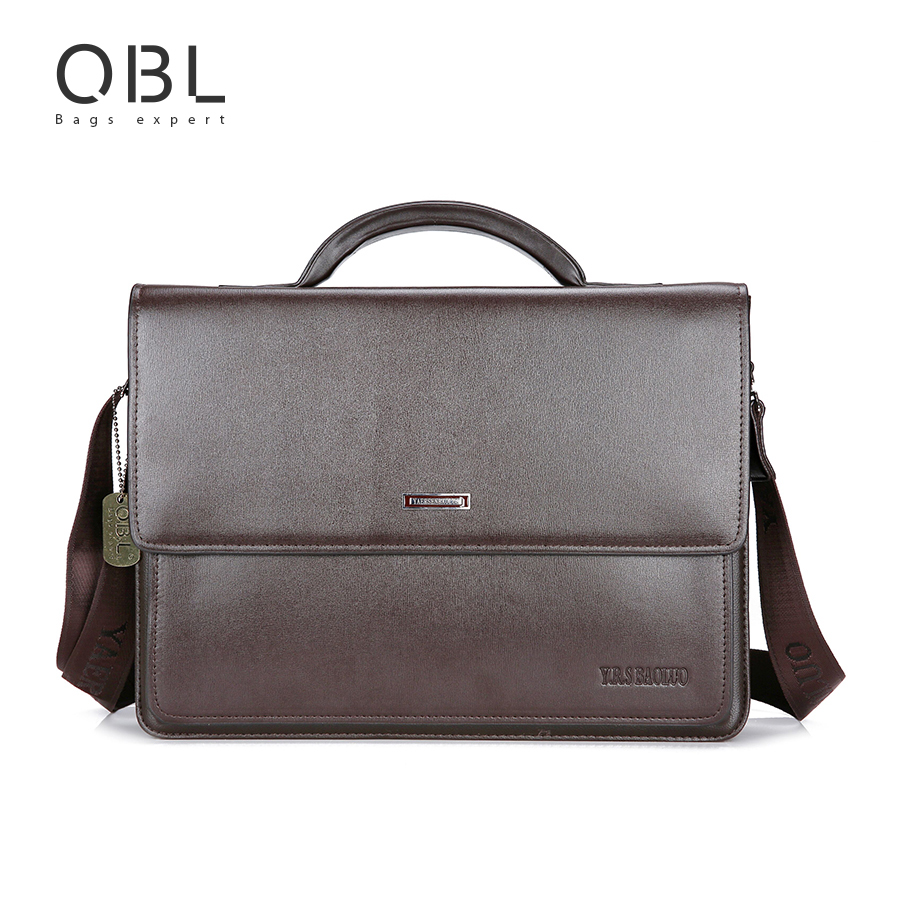 QiBoLu Handbag Men Bag Briefcase Business Travel Laptop Messenger Crossbody Shoulder Bag Sacoche Homme Bolsa Masculina MBA17<br>