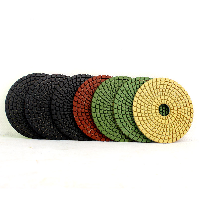Z-lion wet polishing pad 4 for stone polishing top quality 7pcs/package<br><br>Aliexpress