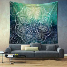 Throw Hippie Wall Hanging Tapestries Woods Sky Style Indian Mandala Elephant Printed Tapestry Roundie Beach Shawl Scarf YG182