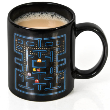 1 Piece Pacman Ceramic Mug Pac-Man Heat Changing Mug -300ml