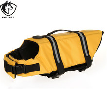 FML Pet Breathable Polyester Fiber Pet Life Jacket For Pet Dog Swimwear Vest For Small Large Dogs Pet Supplies XXS-XXL