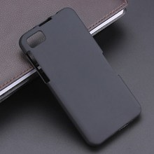 Black S Line Gel TPU Slim Soft Anti Skiding Case Back Cover For BlackBerry Z10 BB10 Mobile Phone Rubber silicone Bag