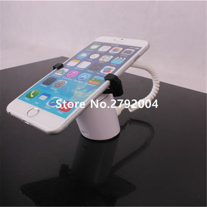 High quality Mobile Phone Cell Phone Stand-alone Security Display Alarm Stand Holder With Charge Function<br>