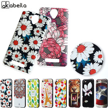 AKABEILA Phone Case For Fly IQ4514 quad EVO Tech 4 IQ 4514 tech4 5.0 inch Case 3D Relife DIY Printed Case Soft TPU Cover Bags(China)