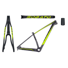 Buy 2017 newest chinese high T800 full carbon fiber frame,thru axle 142*12mm 29er mtb mountain bike for $399.00 in AliExpress store