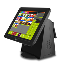 15 Inch All-in-one 5 wires Touch Screen POS Machine rapid cash register terminal for retail store