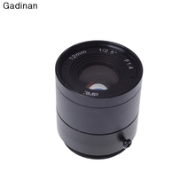 Gadinan 3 Megapixel CCTV Fixed CS mount lens 12mm IP camera lens 3MP 1080P HD CS mount lens for IP Camera&HDCVI SDI Camera(China)