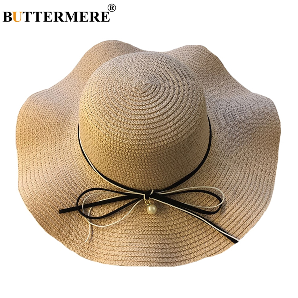... Spring Fashion Designer Casual Bowknot Sun Hat. Features  Women  Beautiful Summer Hats  Hats For Beach Women  Hat With A Wide Brim 4ba6b65b5a04