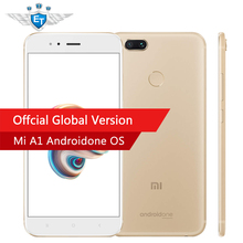 Xiaomi Mi A1 MiA1 64GB Global Version Android One 4GB RAM 5.5'' 1080P Snapdragon 625 Octa Core Smartphone Dual 12MP Android 7.1