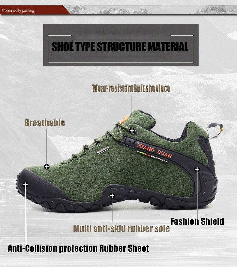 XIANG GUAN Winter Shoe Mens Sport Running Shoes Warm Outdoor Women Sneakers High Quality Zapatillas Waterproof Shoe81285 6