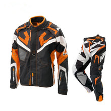 Wholesale KTM Motocross rally suit Motorcycle racing Jacket + Pants Cross-country riding clothes