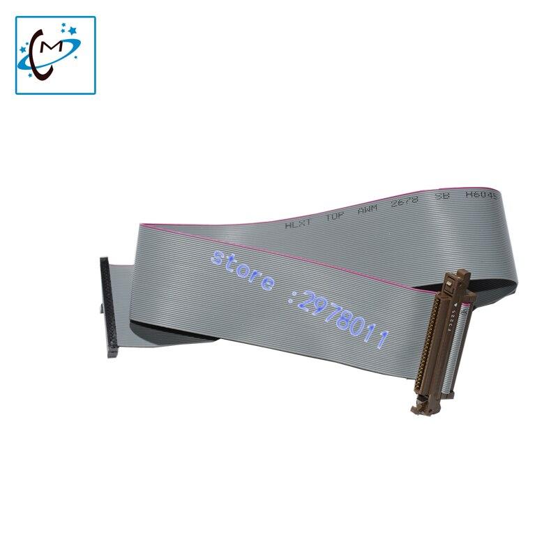 Hot selling!!Konica KM1024 printhead flat data cable for Flora LJ320K LJ3208K printer head cable 50P 65CM length<br>