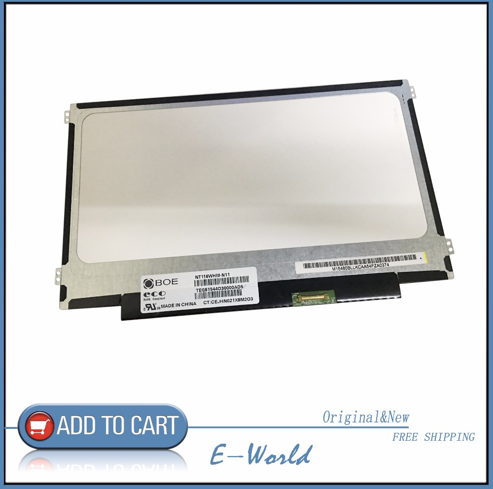 Original 11.6inch LCD screen NT116WHM-N11 NT116WHM for tablet pc free shipping<br>