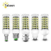 TSLEEN E14 E27 Led Bulb Light E27 B22 E14 G9 Energy Saving Lamp 110V 220V SMD 2835 Home Lighting shock-proof low heat 360 angle(China)