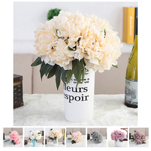 2017 High Quality Fake Peony Bouquet Flower Decoration Simulation Flower Silk Peony Flowers Artificial Peony Flowers 7A0117