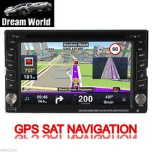 "Radio Navi Head Unit MP4 Autoradio 2 din Car DVD Player Stereo GPS Map iPod In Dash 6.2"" Touchscreen CD Auto System"