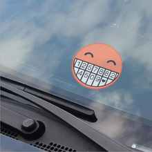 OTOKIT Car Styling Phone Number Card Accessory Sticker With Static Electricity Parking Sticker for Kia Rio K2 Skoda Accessories