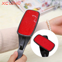Rotating Magic Lint Dust Brush Pet Hair Remover Clothing Cloth Cleaning Brush Anti-static Lint Fluff Fabric Remover Tools(China)