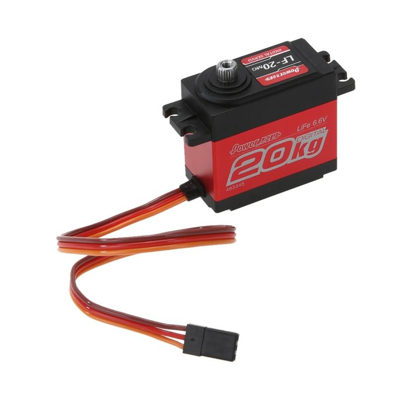 Power HD 4.8-6.6V Digital Steering Engine SUPER TORQUE Servo Crawler Buggy 1:10 1:8 RC Car<br><br>Aliexpress