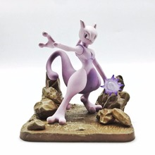 J.Ghee Monster Mewtwo PVC Figure Collectible Model Toy Boxed 11cm Christmas Gifts(China)