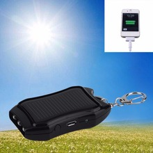 1200mAH Solar Keychain Solar Charger Mobile Power Supply Energy Saving Charger/Battery Power Bank For white hot new
