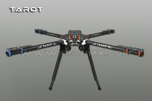 Tarot 650 Fibra De Carbono 4 Axile Aircraft Totalmente Folding FPV Quadcopter Kit Quadro TL65B01 F05548(China)