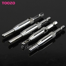 "4x HSS Self Centering Hinge Drill Bits Set Door Cabinet 5/64"" 7/64"" 9/64"" 11/64"" #G205M# Best Quality"