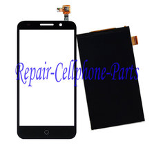 Black  LCD DIsplay + Touch Screen Digitizer For Alcatel One Touch Pixi 3 5.0 3G 5015 5015A 5015D 5015E 5015X 5016A Free shipping