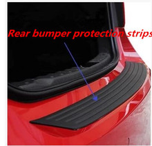 Car styling car strips Car rear bumper protection For Great Wall Hover H5 H6 H8 for Cadillac ATS SRX CTS LINCOLN MK REMOTE(China)