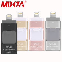 MIXZA iOS10 Lightning OTG Flash Drive 8GB 16GB 32GB 64GB For iOS and USB For PC For Tablet OTG Pendrive for iPhone otg U Disk