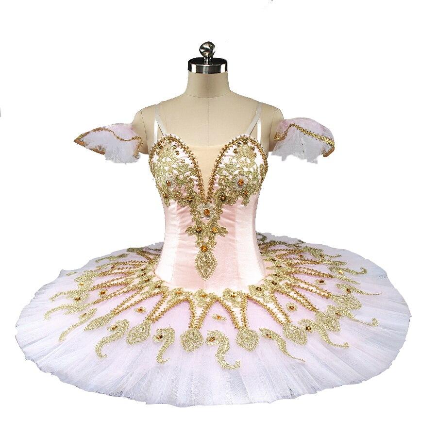 Adult Pink Peach Fairy professional ballet tutu girls