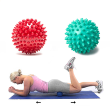 1 pcs Hand Massage Ball PVC Foot Hedgehog Sphere Sensory Training Grip Balls Portable Relax Muscle Physiotherapy Massage Ball(China)