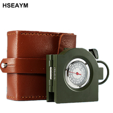 62 Type Compass Multifunctional Portable Outdoor Ranging American Metal High-end Automotive Car Vehicle Compass(China)