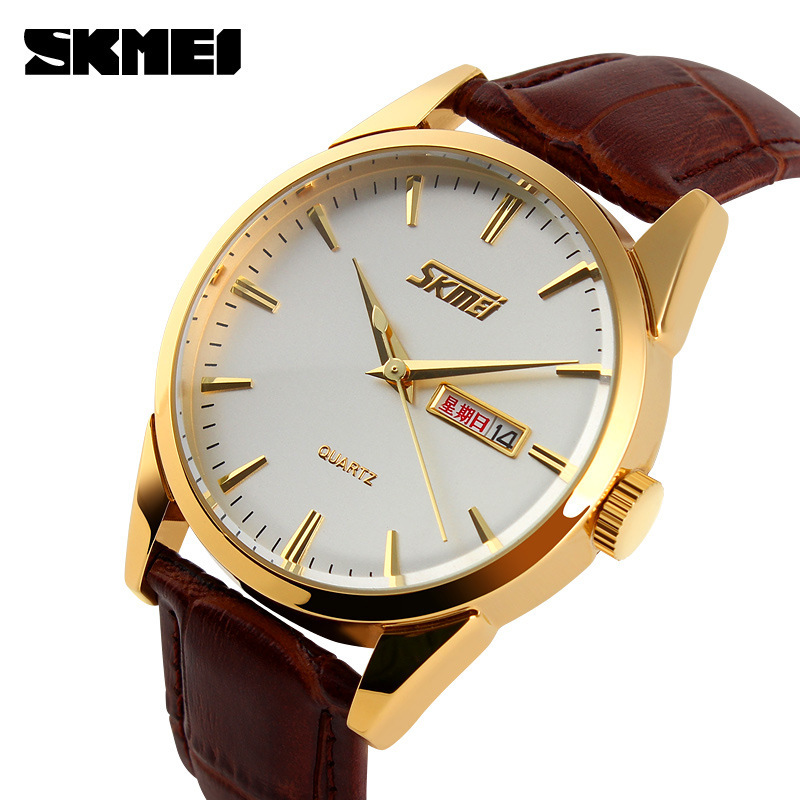 2018 New Brand Fashion Men Sports Watches Men s Quartz Hour Date Clock Man Leather Strap