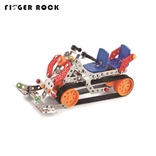 Finger Rock Mini Metal Diecasts Sledge Cars Toys Alloy Assembled Building Vehicle Model Children DIY Handmade Construction Toys(China)