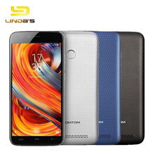 HOMTOM HT50 4G LTE MT6737 Quad Core Cell Phone 3GB 32GB 5.5 Inch 1280x720 8.0MP Fingerprint Android 7.0 5500mAh Smartphone(China)