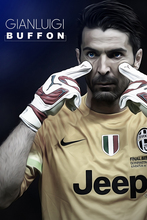 Gianluigi buffon Football Poster Art Pictures for Living Room in Canvas Printed Painting