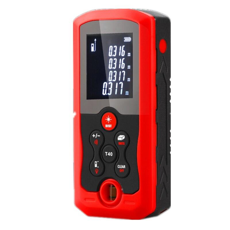 Digital Laser Distance Measuring Meter Sensor Measurer Tool Handheld 40m 70m 100m Tape Rangefinder Dust Protect Splashproof IP54<br>