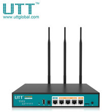 UTT AC750GW Wireless AC 750Mbps Dual Band Gigabit VPN Router Enterprise-Class Security gateway/Dual WAN Multi WAN/Load Balance