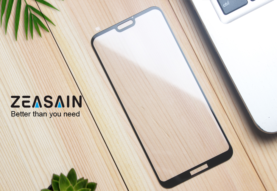 Original ZEASAIN Full Cover Tempered Glass for Huawei P20 Lite P20Lite Huaweip20 Lite Screen Protector 9H 2.5D Safety Glass Film (6)