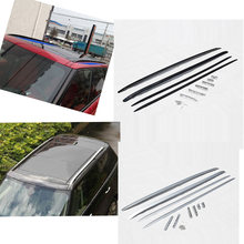 Black or Silver Aluminium luggage baggage roof rack bar for Land Rover Range Rover Sport 2014 2015 2016(China)
